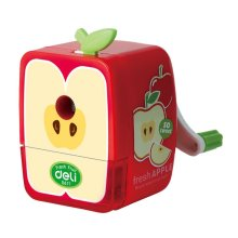 Red Apple Office Use Pencil Sharpener Set of 1