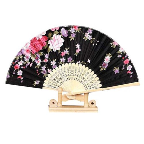 """Classical folding fan Chinese/Japanese Vintage Retro Style 8.27""""(21cm) Hand Fan"""