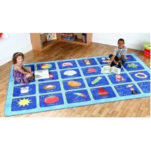 Childrens Alphabet Carpet (MAT092)