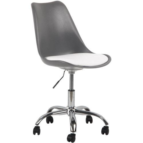Charles Jacobs Adjustable Tulip Desk Chair Office Furniture Swivel Stool Seat