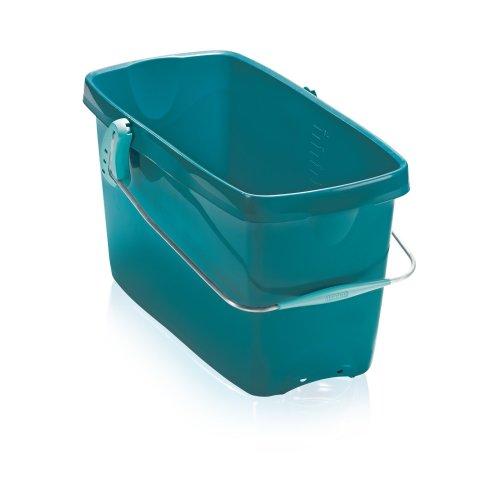 Leifheit Hausrein Combi Bucket, Turquoise, 48 cm