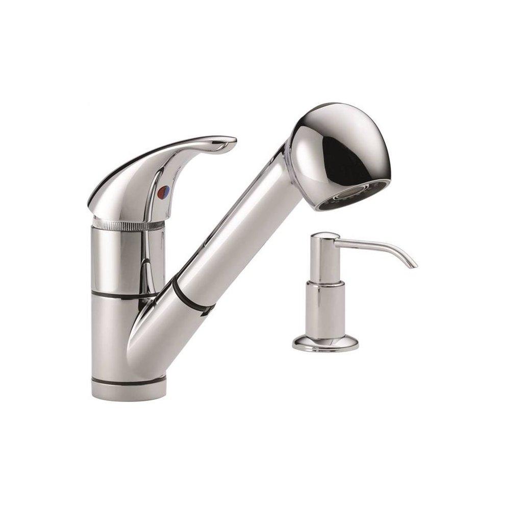 Delta Faucet 3025780 Faucet Kitchen 1 Handle Pl Out Chrome