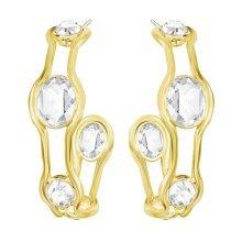 Swarovski Fragment Hoop Pierced Earrings - 5224896