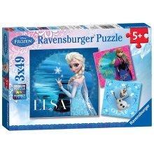 Ravensburger Disney Frozen 3 X 49 Piece Puzzles