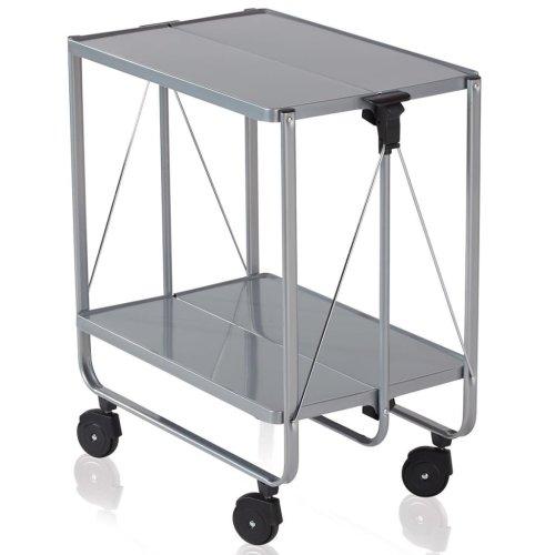 Leifheit Folding Kitchen Trolley Silver 74291