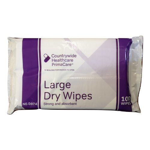 Large Patient Wipes - Strong and Absorbent - Personal/Patient Hygiene