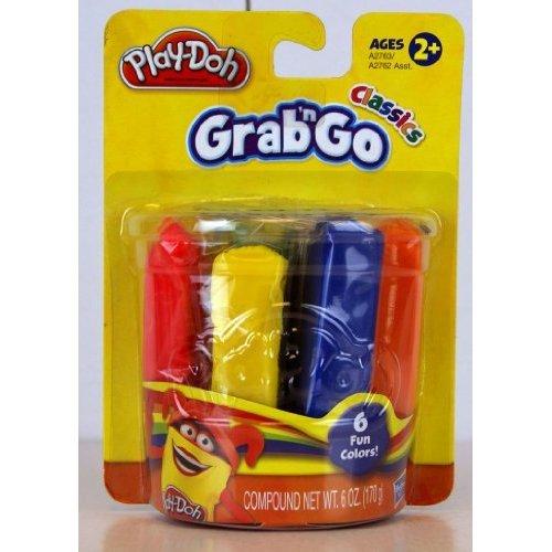 Play-Doh HASA2762-6 Grab n Go 6 Pack