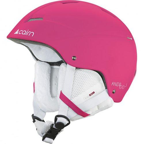 Cairn Android J Matt Flou Fuchsia Snow Sports Ski Junior 51/53cm