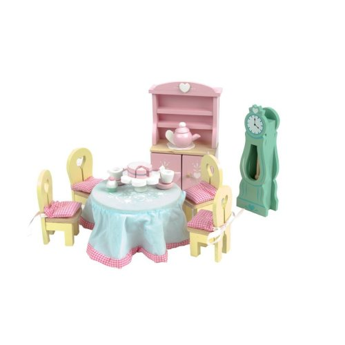 Le Toy Van Daisylane Wooden Doll's House Furniture - Drawing Room Set