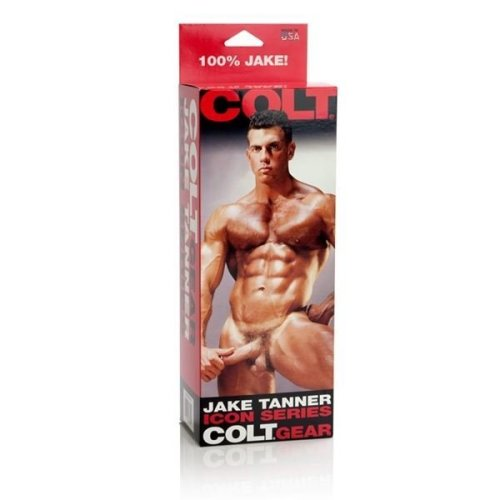 COLT Jake Tanner Cast Cock Anal Butt Toy Suction