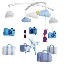 [Go Travel] Handmade Colorful Toy, Creative Gift, Musical Mobile