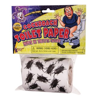 Bristol Novelty Cockroach Toilet Paper