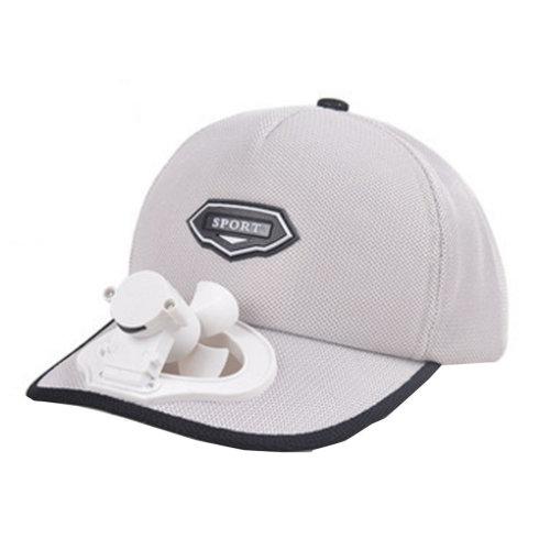 Summer Fan Hat with Fan Fishing Sun Visor Cap#E