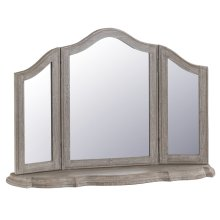 Chateau French Grey Trinket Mirror