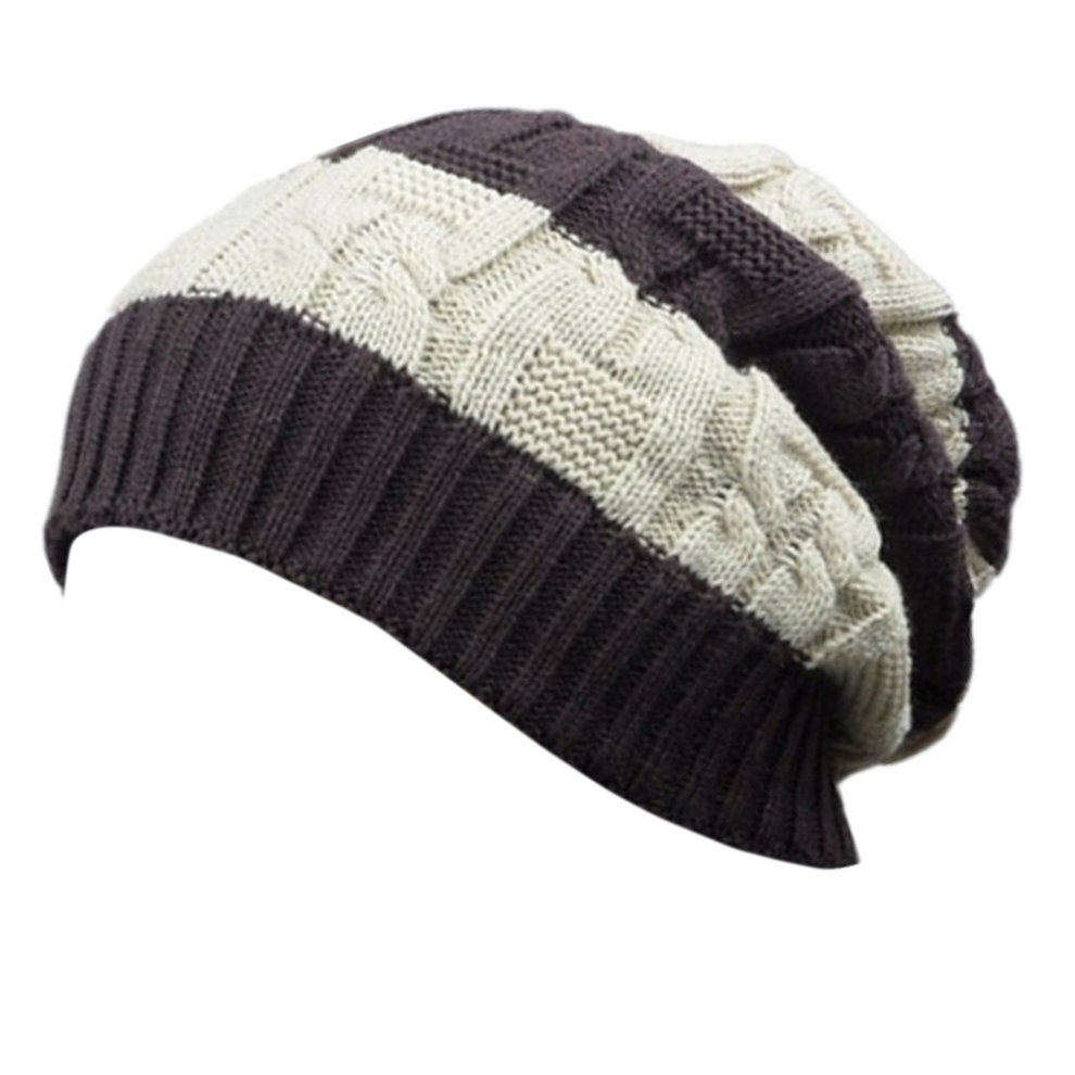 585fedb00ae53 Trendy Winter Warm Cap Chunky Soft Villus Cap Knit Hat Slouchy Beanie B on  OnBuy