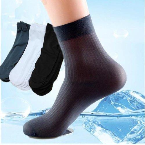 10 Pairs Man Short Bamboo Socks Stockings Middle Socks