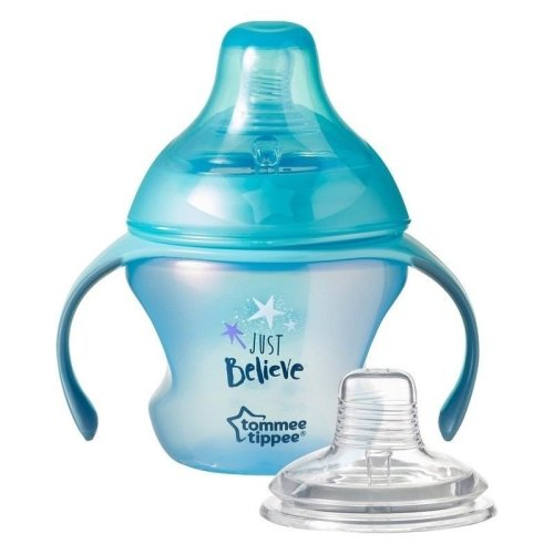 Tommee Tippee Transition Cup 4-7m 150ml Blue