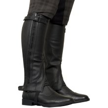TBK Adults Leather Half Chaps