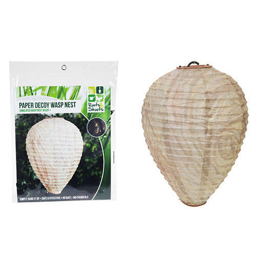 Paper Decoy Wasp Nest - Garden 2 Deterrent Wasps x Hanging Simulated Keeps Bay -  wasp paper decoy nest garden 2 deterrent wasps x hanging simulated