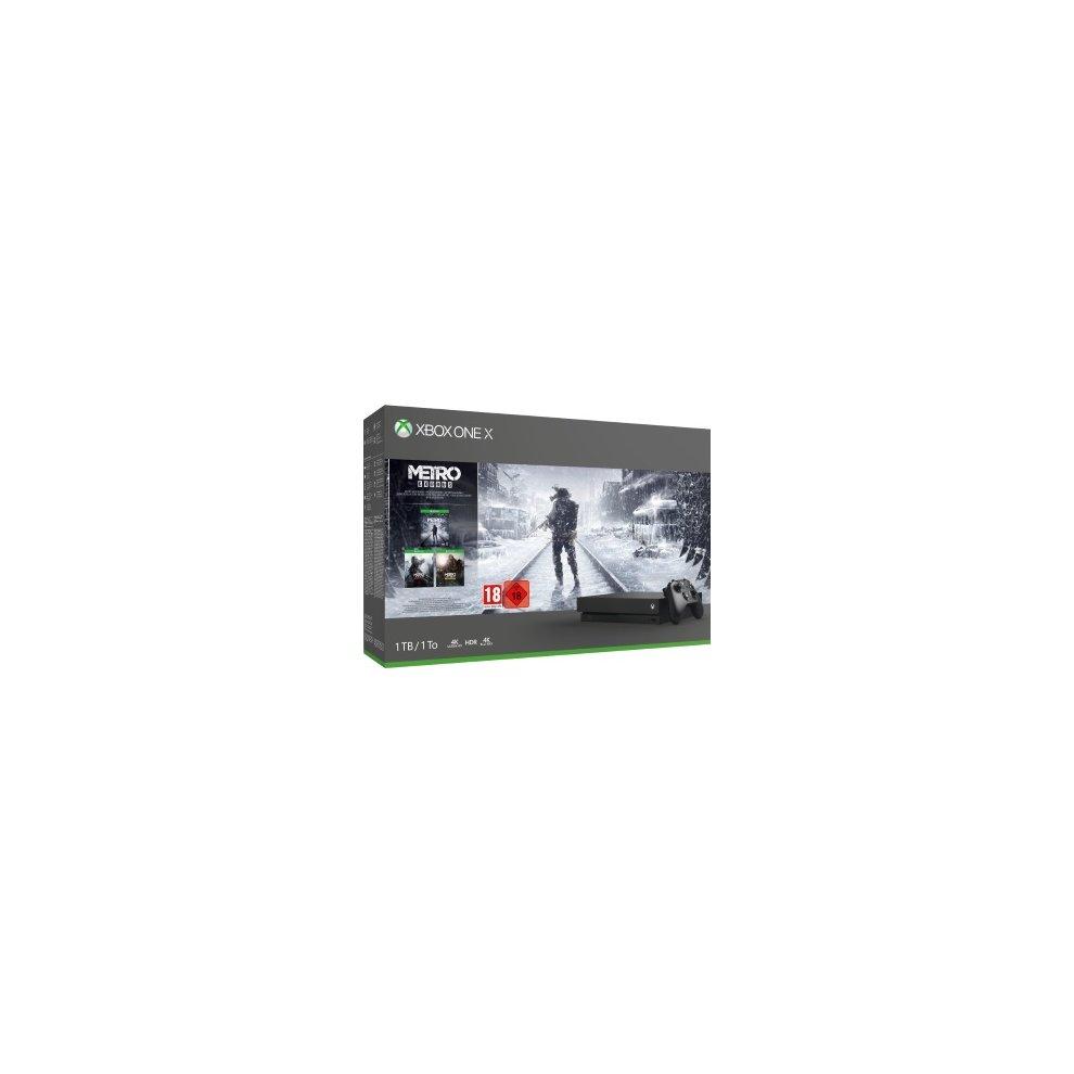 Xbox One X 1tb Metro Saga Trilogy Bundle