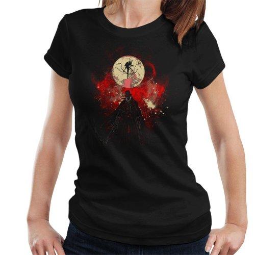 Moon Presence Silhouette Bloodborne Women's T-Shirt