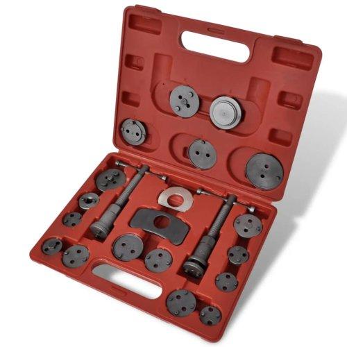 vidaXL Brake Caliper Piston Rewind Tool Kit Garage Equipment Vehicle Repair