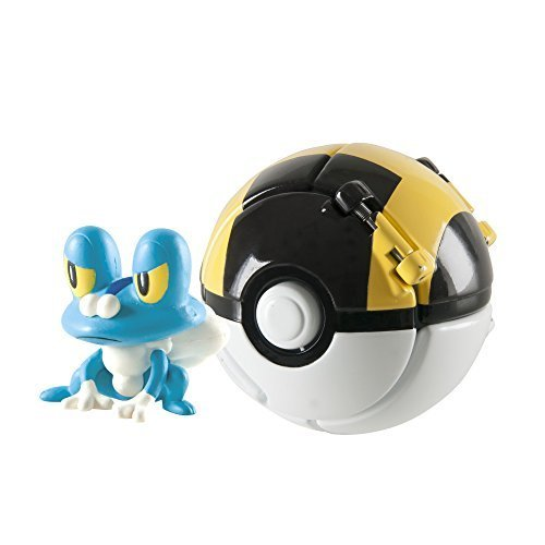 Throw 'N' Pop Froakie and Ultra Ball