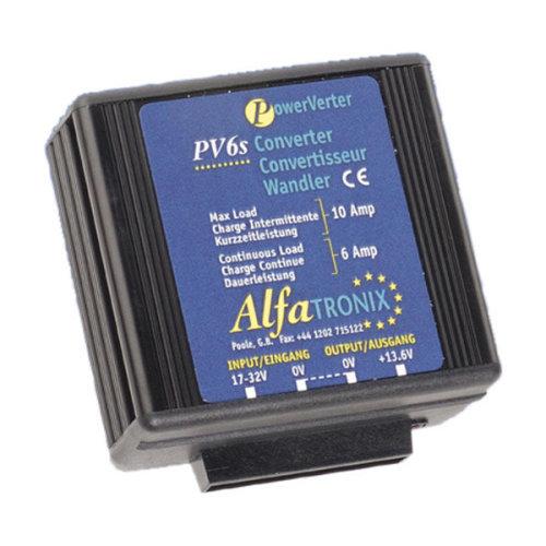 Converter 24-12V Albrecht PV 6S Current Rating 6A Code 47831