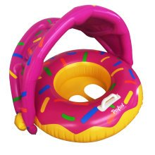 Official 'Perfect Pools' Toddler Doughnut Seat | Babies Pool Doughnut Ring