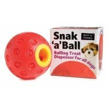 Snak 'A' Ball Treat Dispenser | Plastic Dog Treat Ball