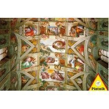 Piatnik Michelangelo - the Ceiling of the Sistine Chapel Jigsaw Puzzle (1000 Pieces)