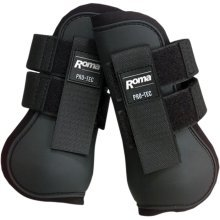 Roma Open Front Tendon Boots
