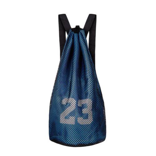 Training Backpack Basketball Volleyball Soccer Pocket Outdoor Sport Organizer Bag-Blue