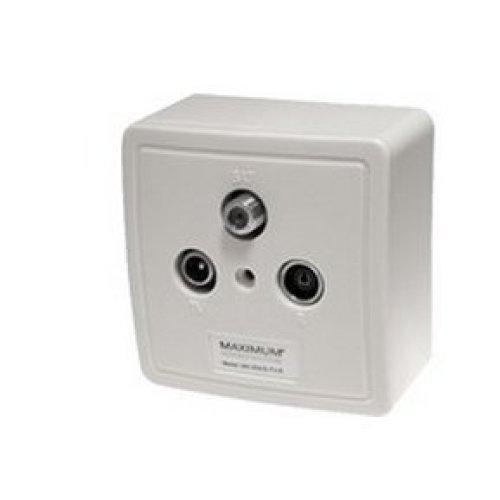Maximum 1210 White outlet box