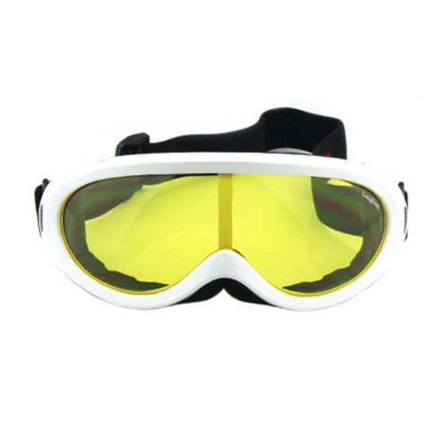 Snow Goggles Windproof Eyewear Ski Sports Goggle Protective Glasses White/Yellow