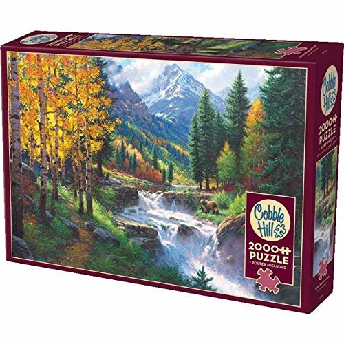 CBL89002 - Cobblehill Puzzles 2000 pc - Rocky Mountain High