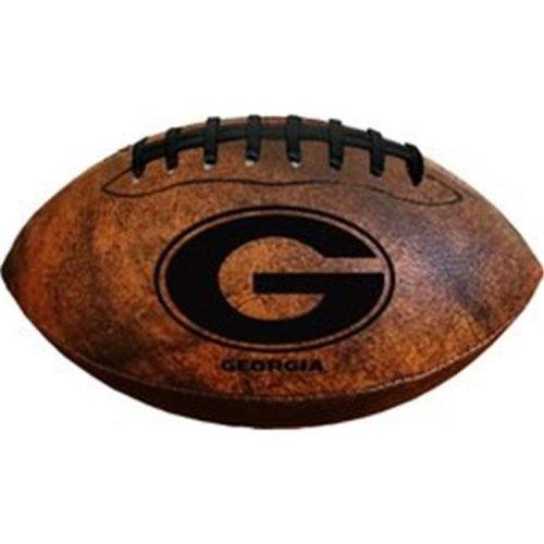 Gulf Coast 5038600048 9 in. Georgia Bulldogs Football Vintage Throwback