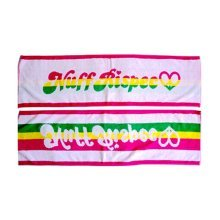 Set of 2 Colorful Lightweight Absorbent Hip-hop Sport Towels Yoga Towels