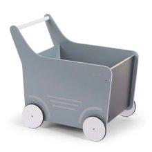 CHILDWOOD Wooden Toy Stroller Grey WODSTRM