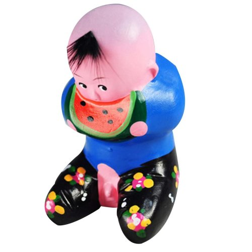 Clay Sculpture Clay Figurines Chinese Doll Decoration Gifts Arts and Crafts
