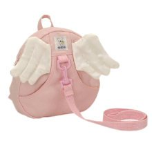 Infant Knapsack Baby Bag Toddler Backpack Prevent From Getting Lose Pink Angel