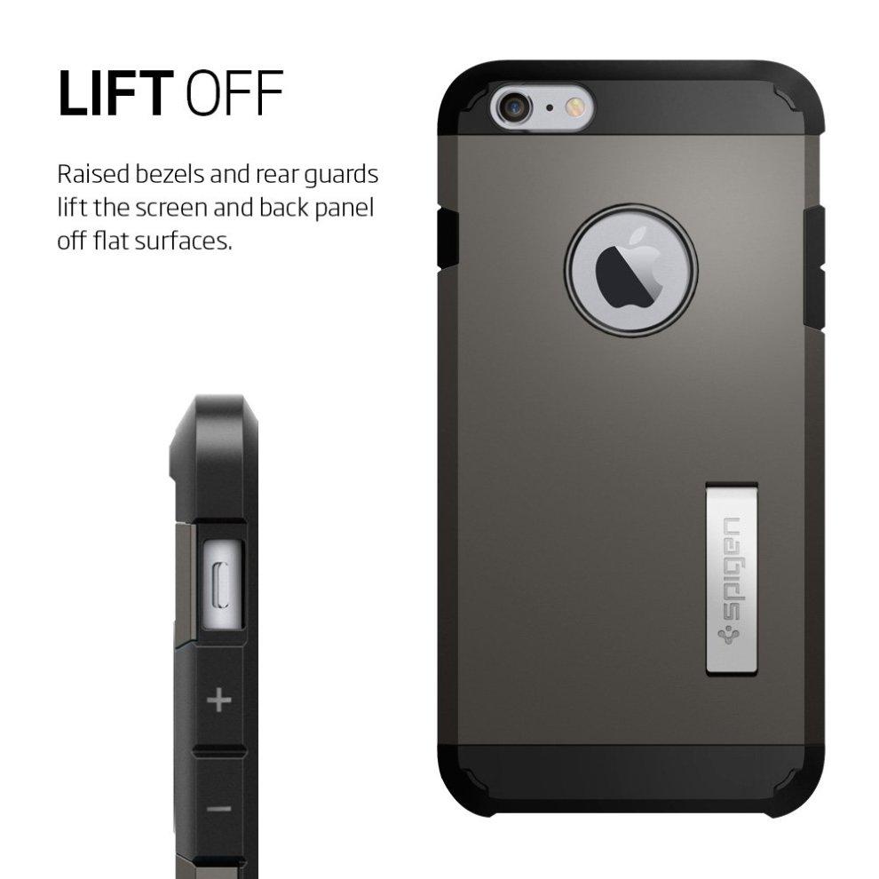 finest selection cceca f1154 Spigen Extreme Protection Tough Armor Case for Apple iPhone 6 Plus/6S Plus  - Gunmetal