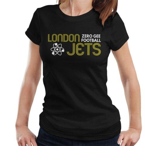 London Jets Zero Gravity Football Red Dwarf Women's T-Shirt