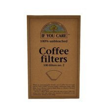 If You Care Coffee Filters No. 2 Small Unbleached 100 Filters