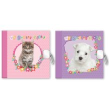 2018 Secret Diary Girls Christmas Birthday Gift Kids Childrens Kittens Puppies Puppy Pink Green Purple