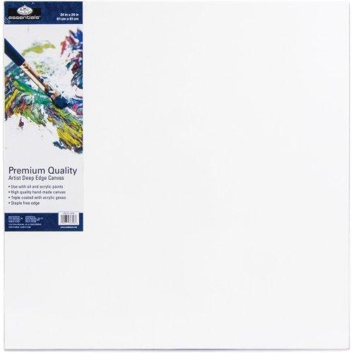 "essentials(TM) Premium Gallery Style Deep Edge Canvas-24""X24"""