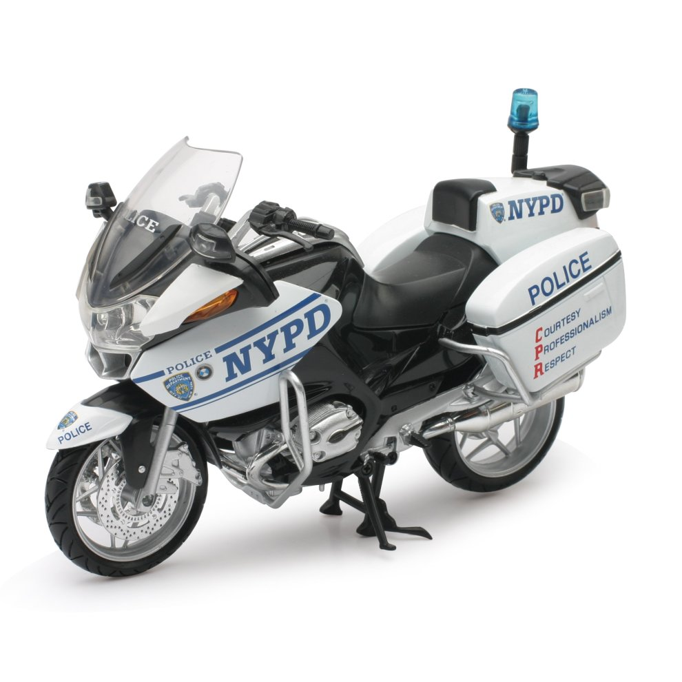 New Ray 44073 Bmw R1200rt Model Police Motorcycle
