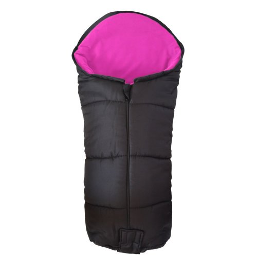 Deluxe Footmuff / Cosy Toes Compatible with Phil & Teds Smart Buggy Pushchair Pink