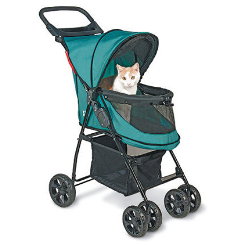 Happy Trails No Zip Stroller Blue