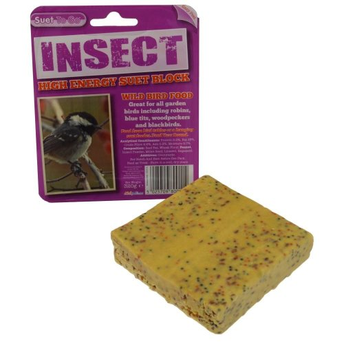 Suet To Go Insect Block In Tray